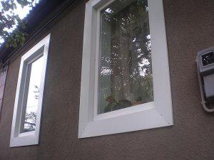 Узкое окно