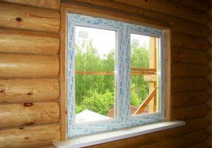 Окна для загородного дома, для деревянного дома