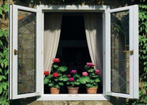 Окна с наружным открыванием