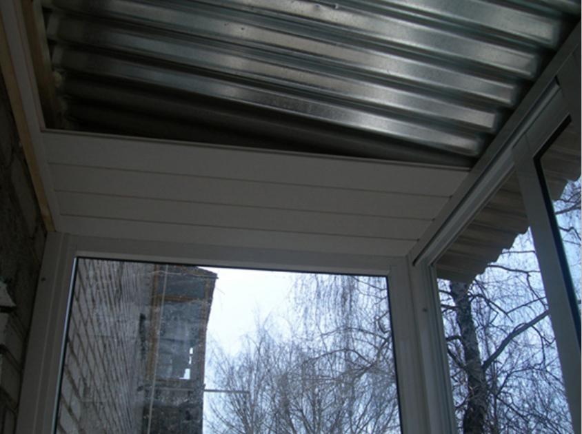 Крыша на балкон 1