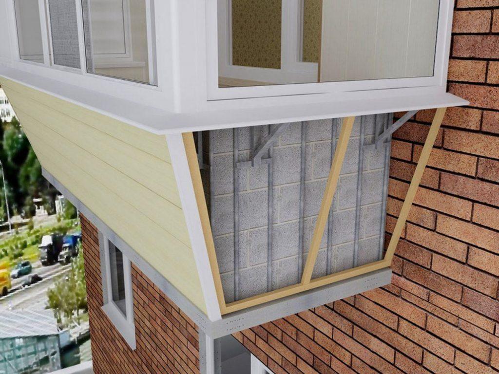 Выносное остекление балконов 1
