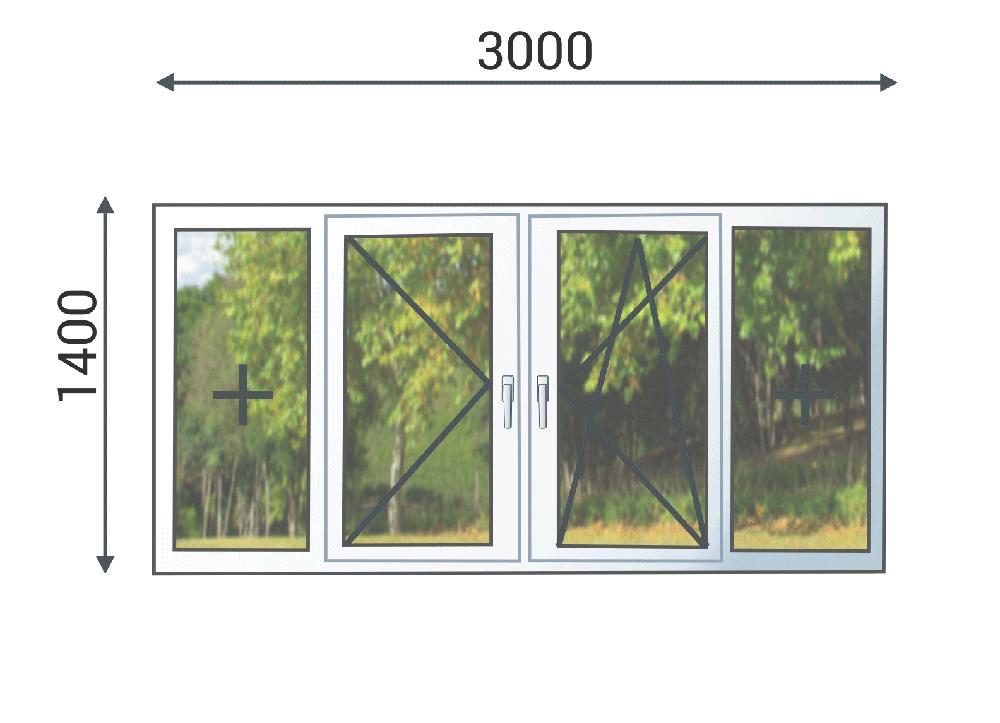 Расчет стоимости остекления балконов и лоджий