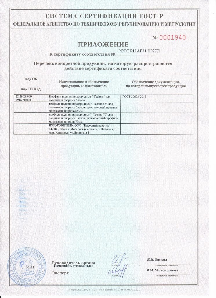 Сертификаты 5