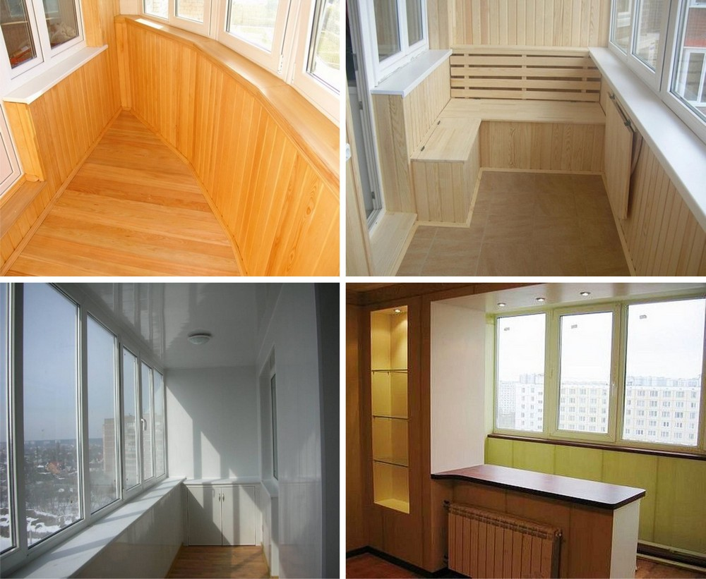 Отделка балконов 11