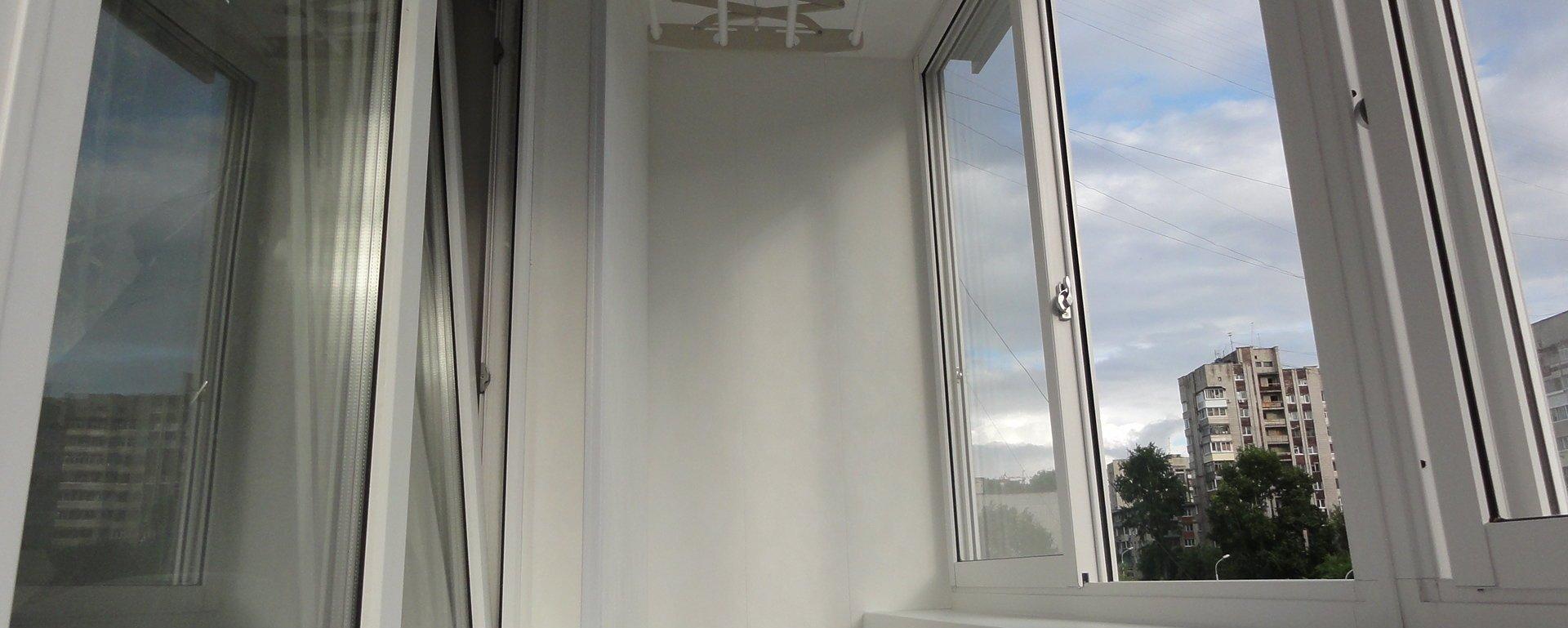 Остекление балконов Slidors