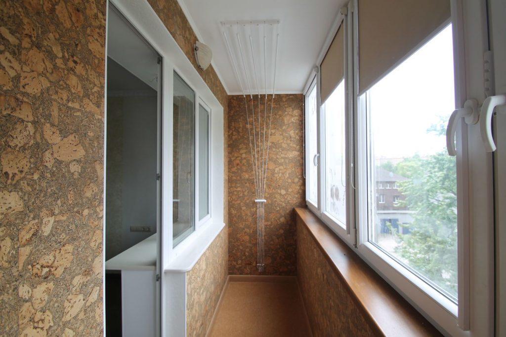 Отделка балконов 6