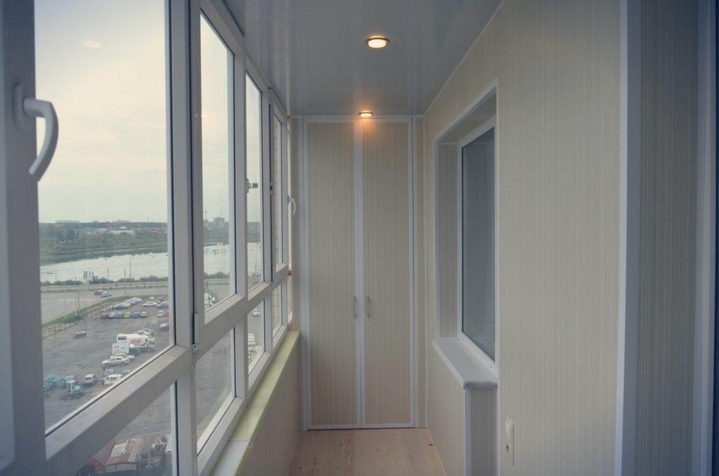 Отделка балконов 7