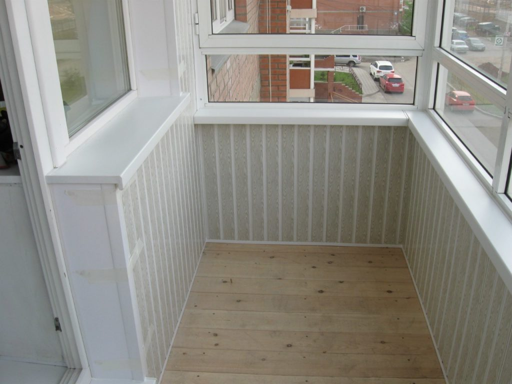 Отделка балконов 4