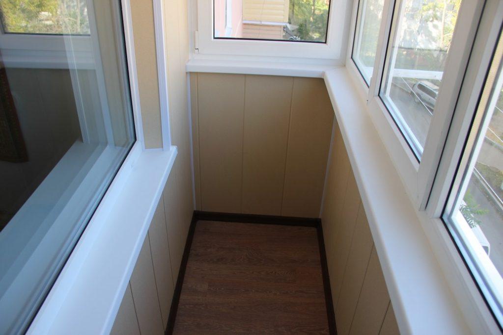 Отделка балконов 8