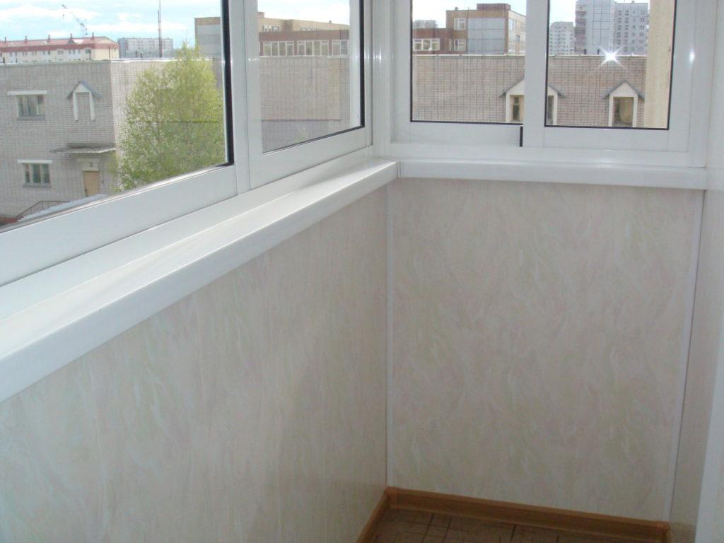 Отделка балконов 1