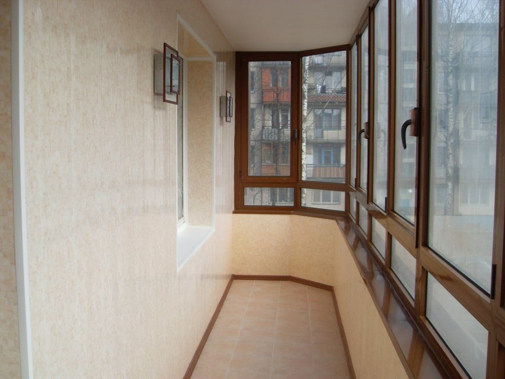 Отделка балконов 2