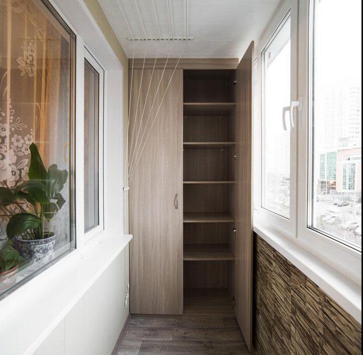 шкаф для узкого балкона фото сне рамку исполнять